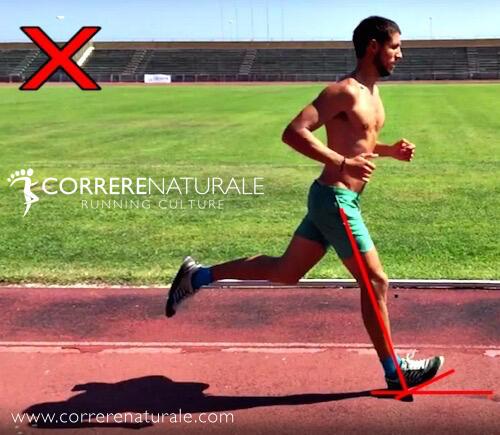 I principali errori nella corsa, #4 - l'appoggio del piede